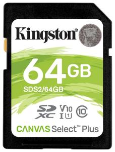Карта памяти Kingston SDS2/64GB 64 Гб