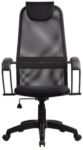 Кресло офисное Метта SU-BP-8 (БЕЗ ОСНОВАНИЯ) черный