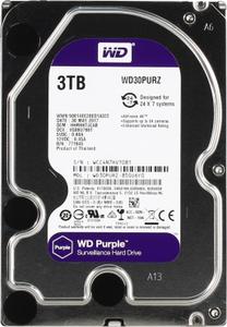 Жесткий диск Western Digital Purple [WD30PURZ] 3 Тб
