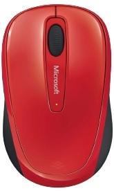 Мышь беспроводная Microsoft 3500 красный