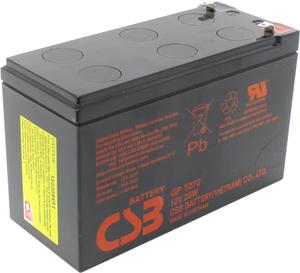 Аккумулятор CSB GP-1272  (12V,7.2Ah) для UPS