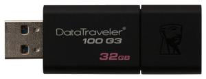 Флэш-накопитель Kingston DataTraveler 100 G3 DT100G3/32GB 32 Гб