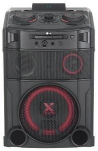Микросистема LG OM7550K черный/черный 1000Вт/FM/USB/BT (в компл.: диск 2000 песен)