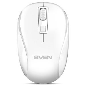 Мышь беспроводная Sven RX-255W белый