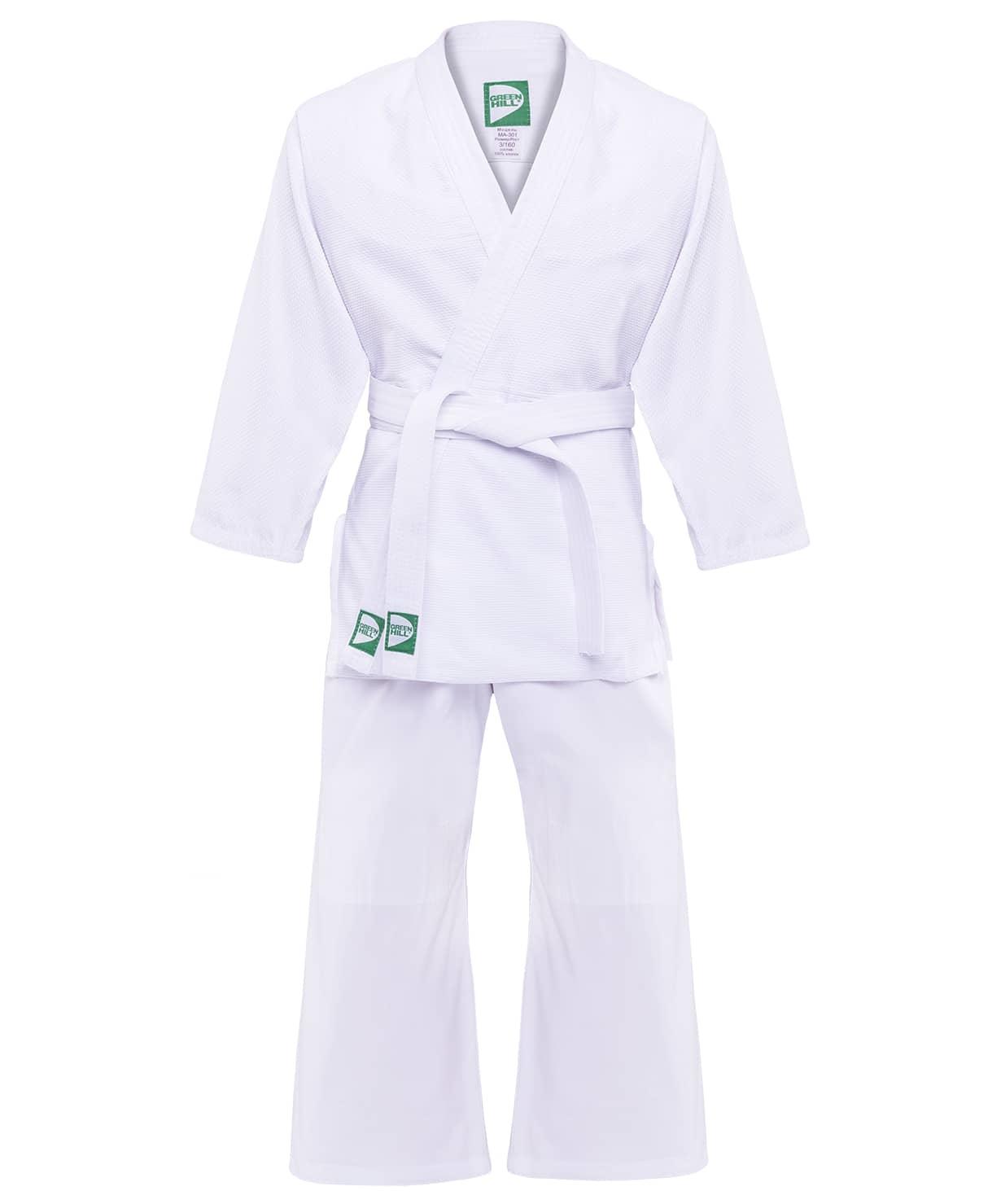 Кимоно для дзюдо MA-301 белый, р.0/130