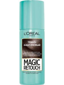 Тонирующий спрей для корней волос 2 Темный Каштан 75мл L'Oreal