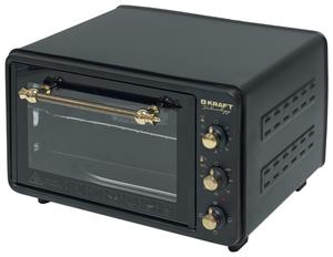 Мини-печь Kraft Technology TCH-MO 3605 BL retro черный