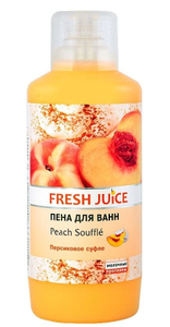 Пена для ванн Peach souffle 1л Fresh Juice