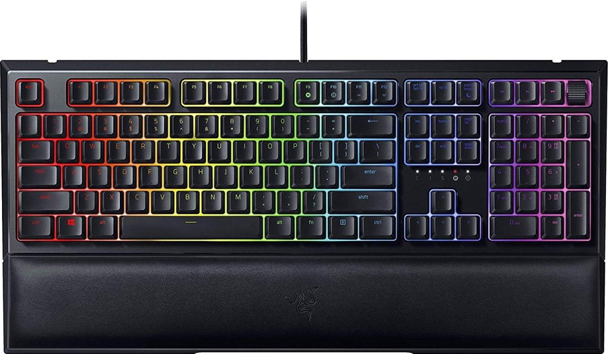 Клавиатура проводная Razer Ornata V2 черный