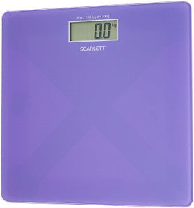 Весы напольные Scarlett SC-BS33E042 сиреневый