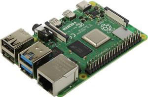 Микрокомпьютер Raspberry PI 4 Model B 8Gb