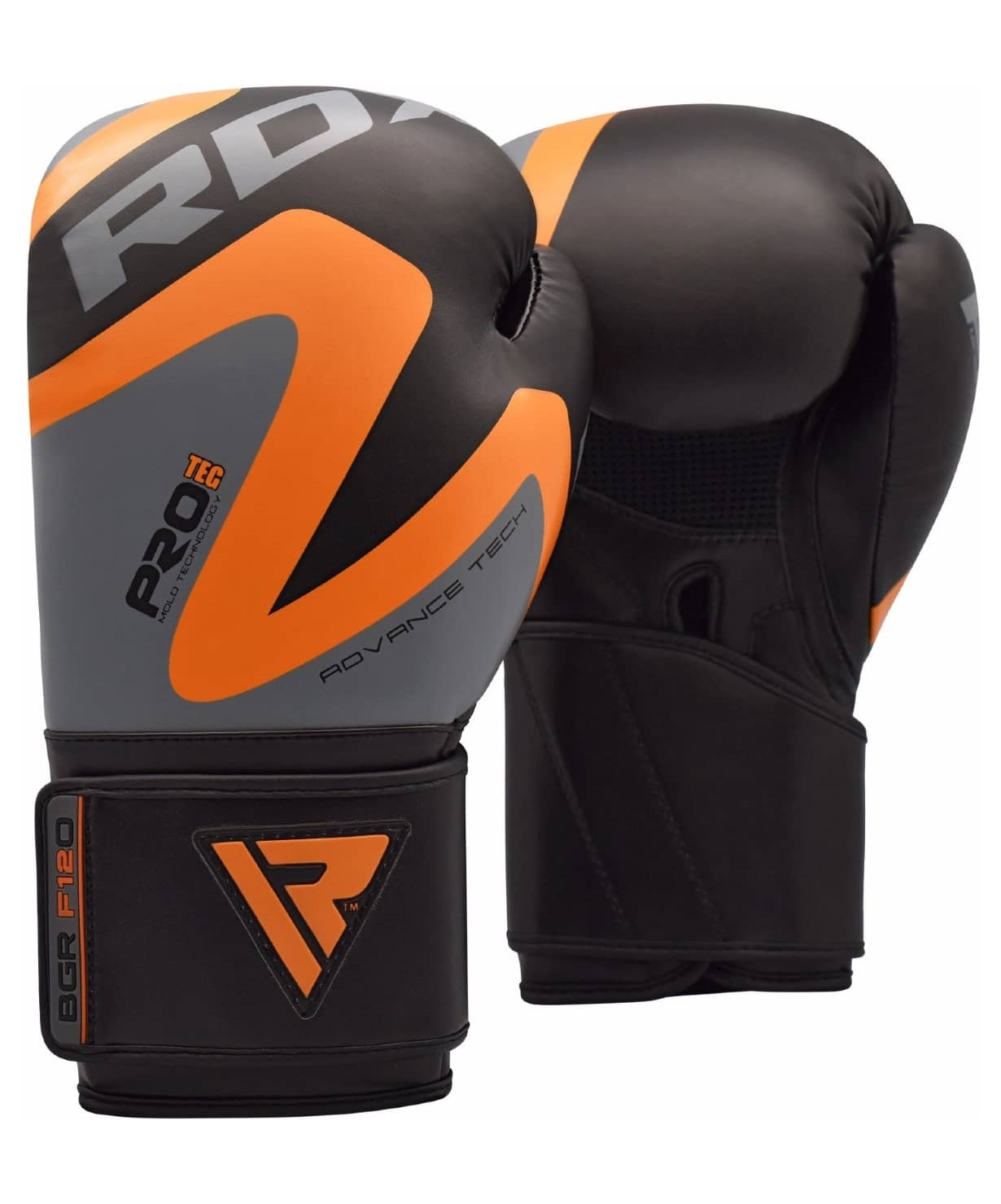 Перчатки боксерские REX F12 ORANGE BGR-F12O, 12 oz