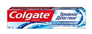 """Зубная паста """"Тройное действие"""" Экстра Отбеливание 100мл Colgate"""