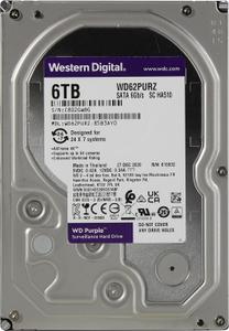 Жесткий диск Western Digital Purple [WD62PURZ] 6 ТБ