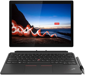 Ноутбук-трансформер Lenovo ThinkPad X12 Detachable G1 T (20UW0008RT) черный