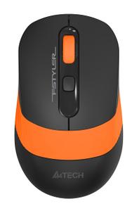 Мышь беспроводная A4Tech Fstyler FG10 оранжевый
