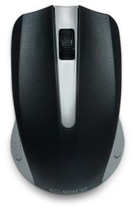 Мышь беспроводная CBR CM 404 Silver USB серебристый