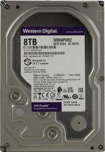 Жесткий диск Western Digital [WD84PURZ] Purple 8 ТБ