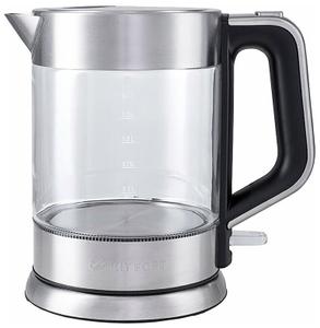Чайник электрический Kitfort КТ-617 серебристый