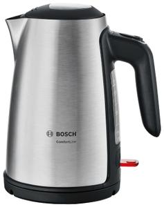 Чайник электрический Bosch TWK6A813 серебристый