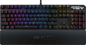 Клавиатура проводная Asus TUF Gaming K3 серый