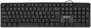 Клавиатура проводная Defender Next HB-440 черный