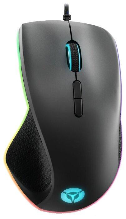 Мышь проводная Lenovo Legion M500 черный
