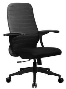 Кресло офисное Метта CP-10 черный (БЕЗ ОСНОВАНИЯ)