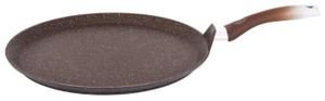Сковорода-лавашница 350мм, АП (кофейный мрамор)