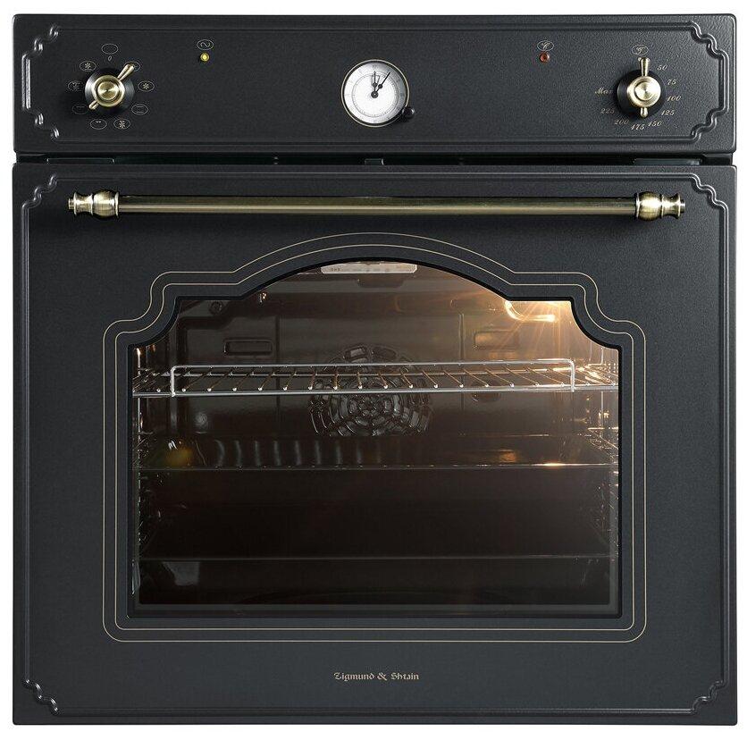 Духовой шкаф Zigmund & Shtain E 135 B черный
