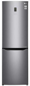 Холодильник LG GA-B419SLGL серебристый