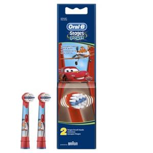 Насадка для зубных щеток Oral-B Kids Stages Cars Miki Princess (упак.:2шт)