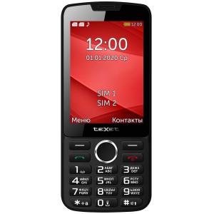 Сотовый телефон teXet TM-308 черный