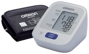 Тонометр Omron M2 Basic HEM-7121-ALRU + адаптер питания, универсальная манжета