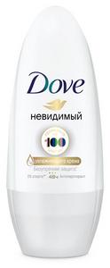 Дезодорант-антиперспирант шар Dove Невидимый 50 мл