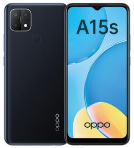 Смартфон OPPO A15s 64 Гб черный