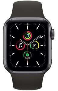 Смарт-часы Apple Watch SE 44mm черный
