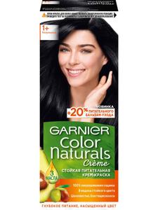 Краска для волос Color Naturals 1+ Ультра черный Garnier