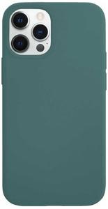 Чехол защитный «vlp» Silicone Сase для iPhone 12/12 Pro, темно-зеленый