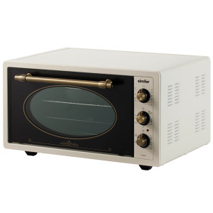 Мини- печь Simfer M4579 NEW /45л/ 1400 Вт /Бежевый, (сломано переднее стекло на дверце)