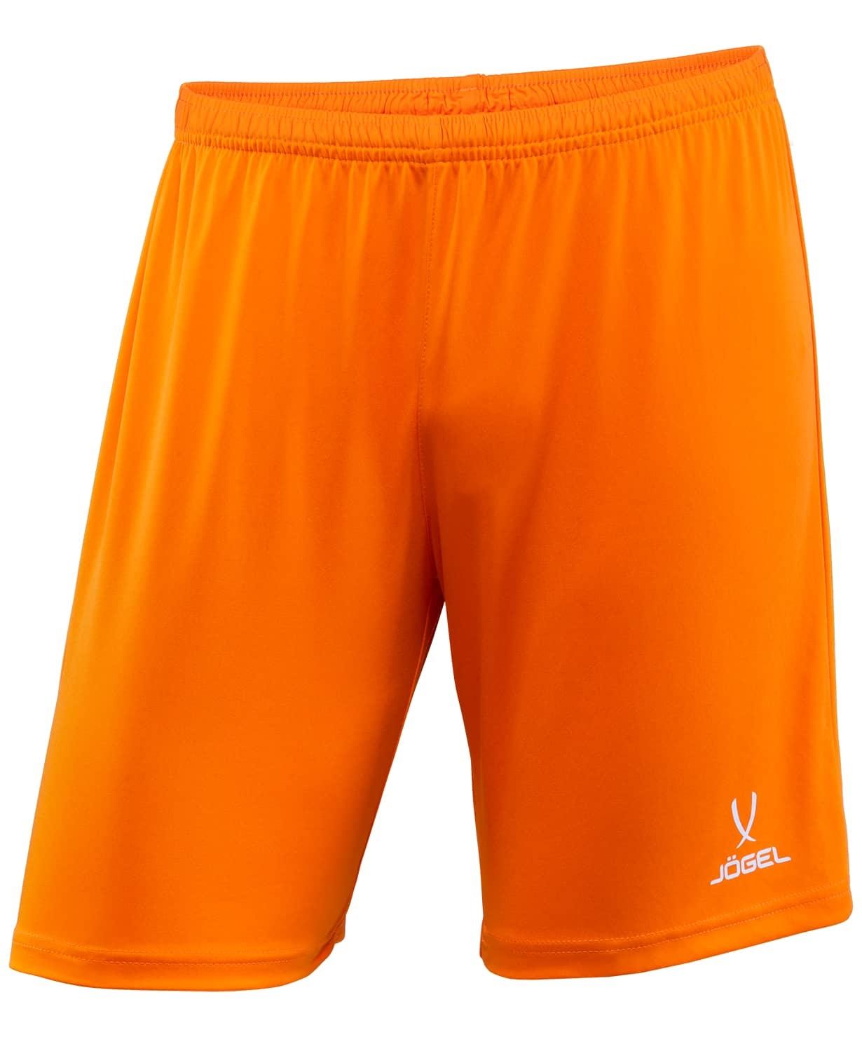 Шорты футбольные CAMP JFT-1120-O1, оранжевый/белый
