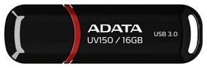 ADATA DashDrive UV150 < AUV150-16G-RBK > USB3.0 Flash Drive 16Gb