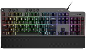 Клавиатура проводная Lenovo Legion K500 черный