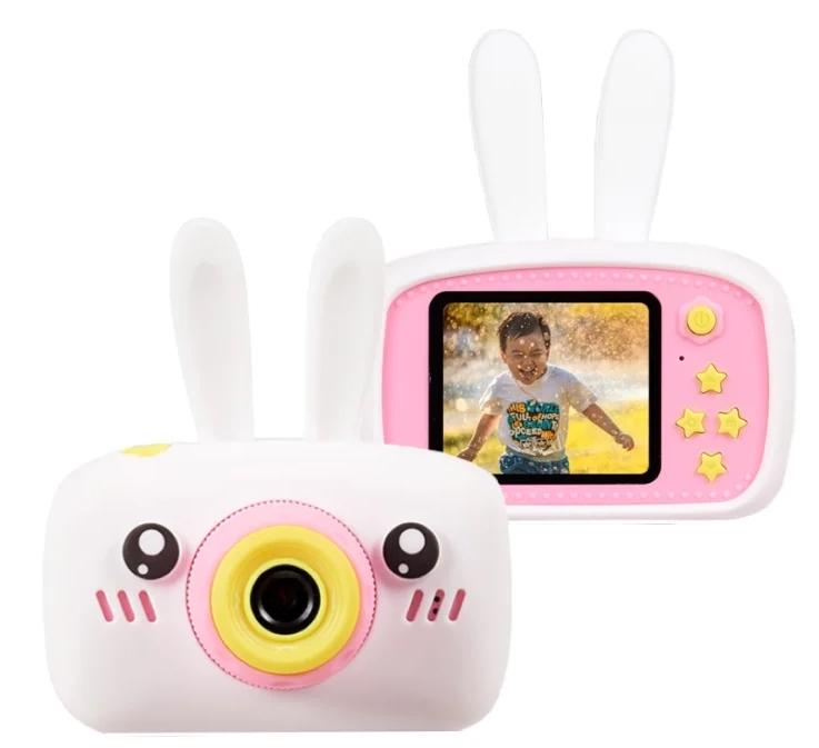 RAFECOFF / Детский цифровой фотоаппарат Зайка Белый, ограниченная гарантия