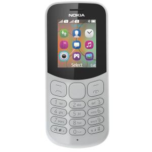 Сотовый телефон Nokia 130 DS серый