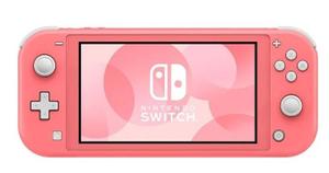 Игровая консоль. Nintendo Switch Lite (кораллово-розовый)