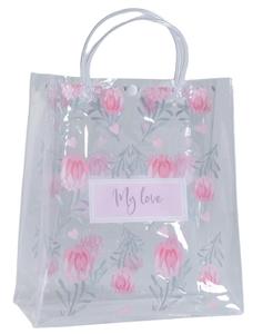 Пакет пластиковый My love, 23 х 27 х 11,5 см
