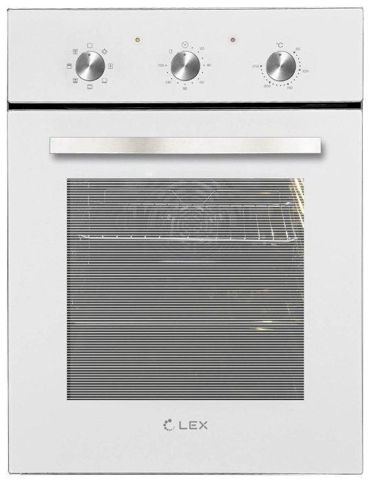 Духовой шкаф LEX EDM 4570 WH белый