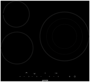 Электрическая варочная поверхность Gorenje ECT63ASC черный
