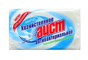 Мыло хозяйственное антибактериальное 200гр АИСТ